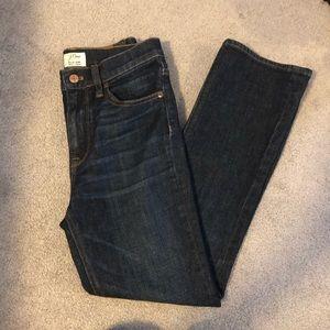J. Crew Billie Demi crop boot cut jeans